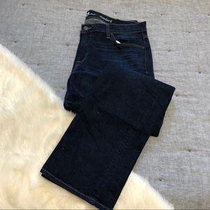 7 for all mankind standard dark wash jeans sz.38